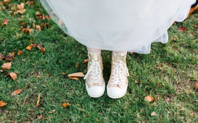 Do I have to wear heels for my wedding?